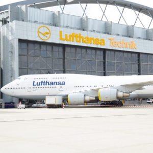 Lufthansa Technik Wartungshalle