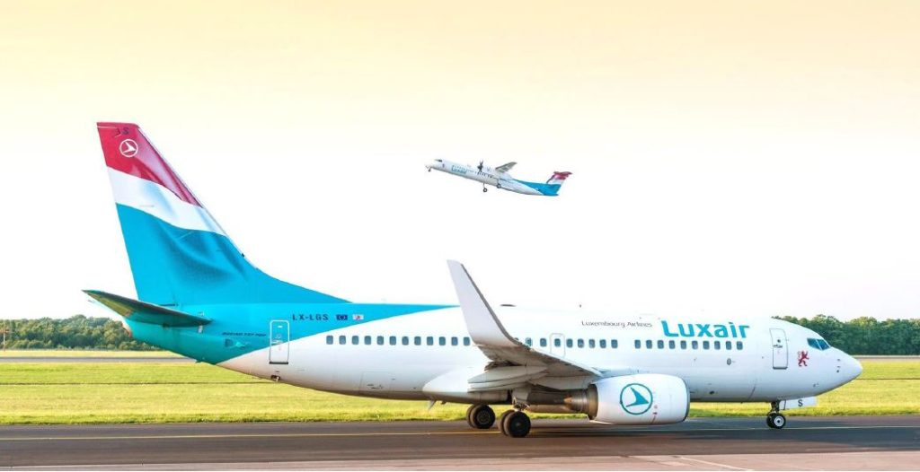 Luxair aircrafts