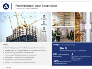 Lumics Projektbeispiel Bauunternehmen